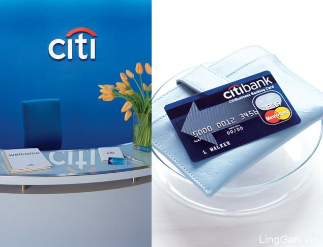 Citibank美国花旗银行品牌设计