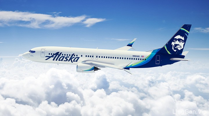 美国阿拉斯加航空公司再次更换LOGO