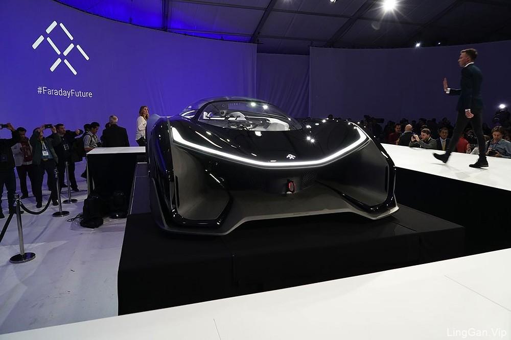 乐视首款电动汽车(FF Zero 1)LOGO亮相