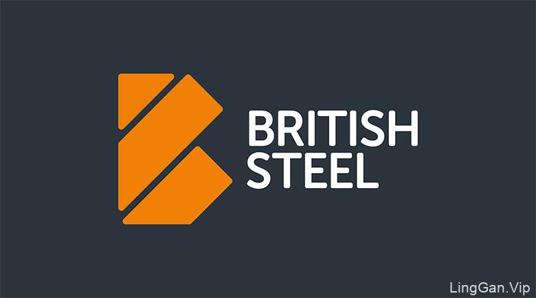 英国钢铁股份(British Steel)企业形象设计