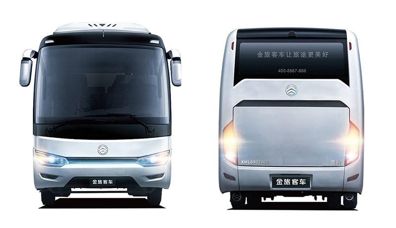 金旅客车推出新LOGO,品牌全面升级