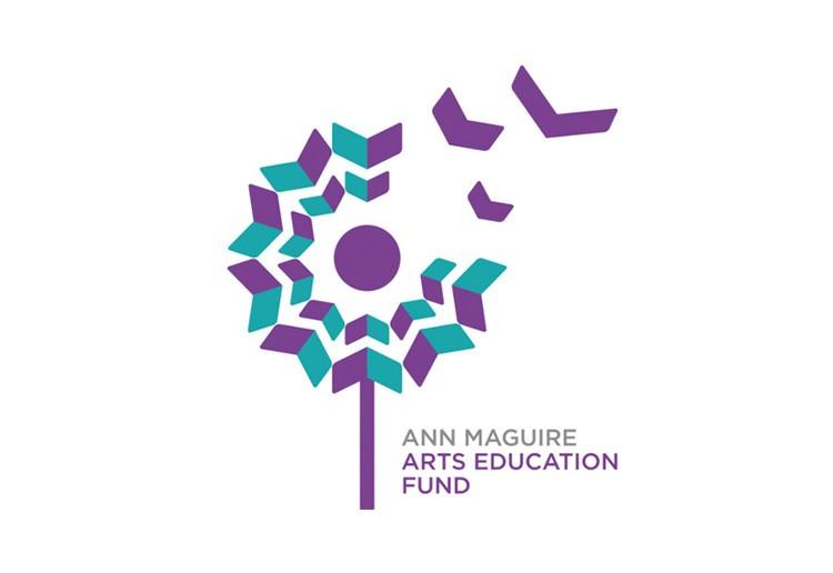 Ann Maguire艺术教育基金会的蒲公英LOGO