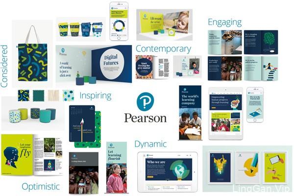 英国培生集团(Pearson)启用了新品牌LOGO及VI手册下载