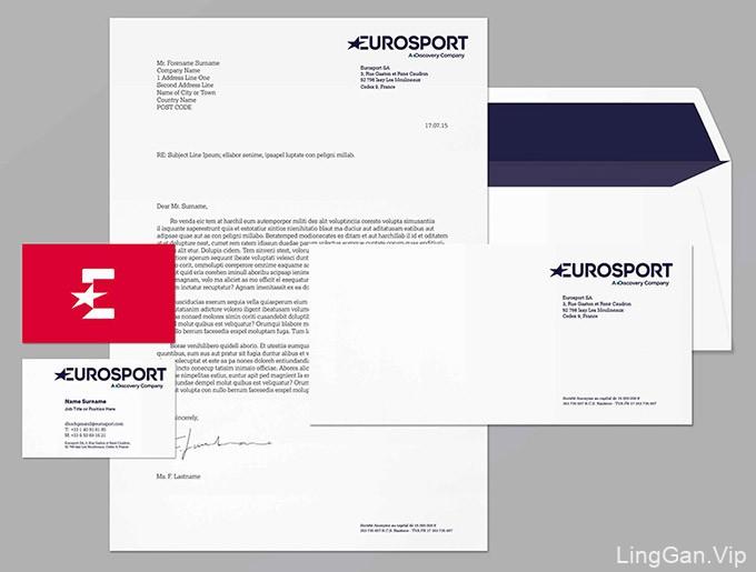 欧洲体育频道采用五角星形新LOGO