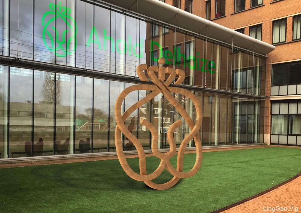 欧洲超市零售巨头Ahold Delhaize集团形象设计