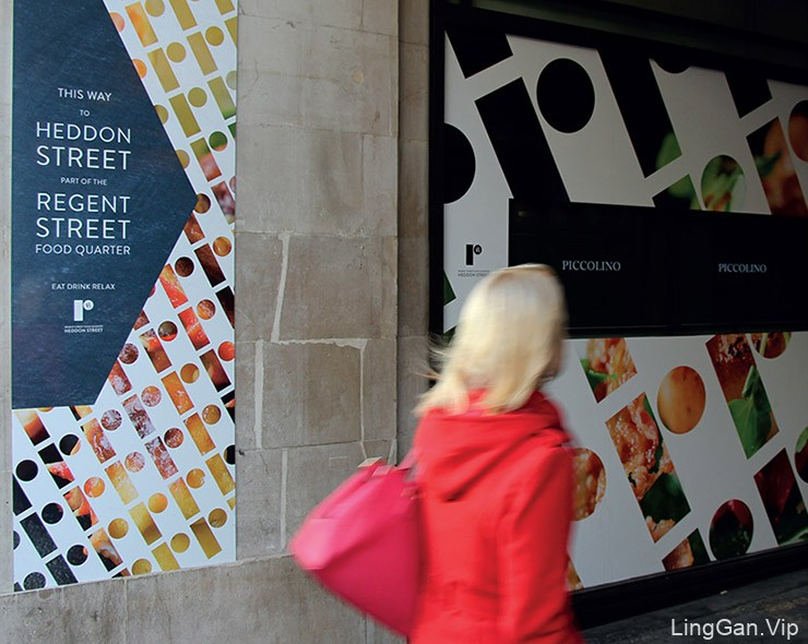 伦敦丽晶街 (Regent Street) 品牌LOGO及视觉形象