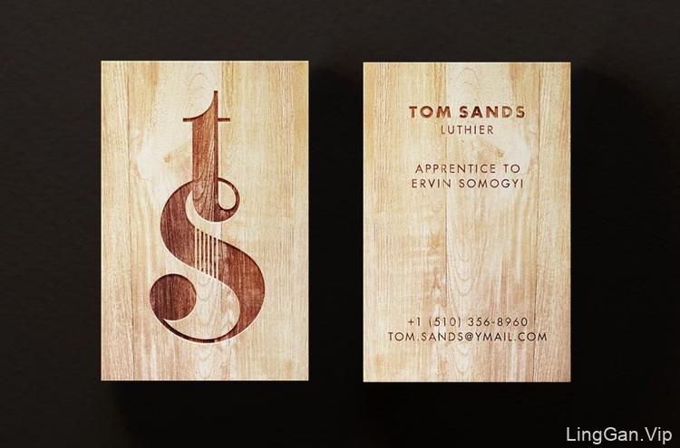 英国个人吉他品牌(Tom Sands)LOGO设计