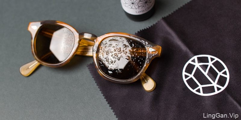 Glass Optical 眼镜店品牌形象设计