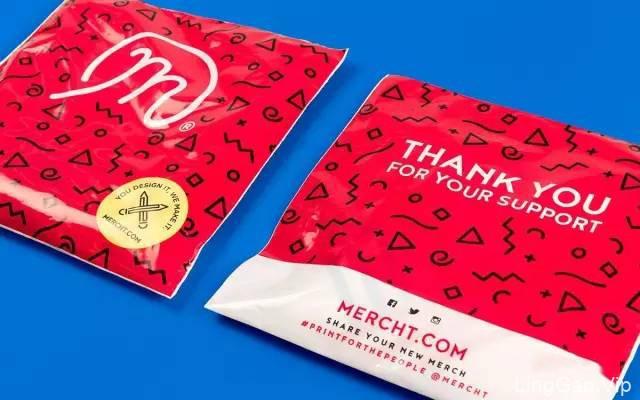 个性化定制T恤品牌(Mercht)视觉形象VI设计
