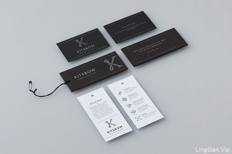 美国运动服装品牌Kitsbow视觉形象设计