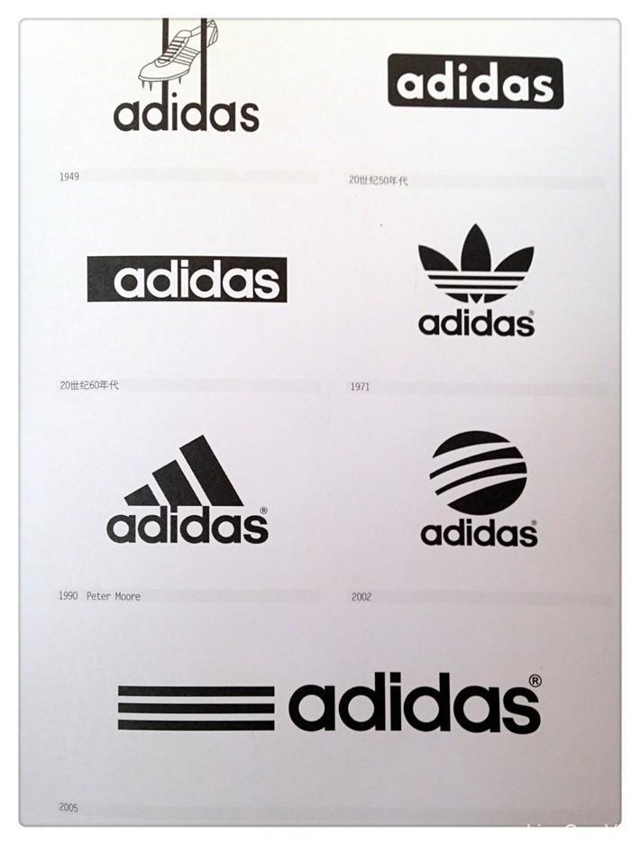【品牌故事】adidas阿迪达斯LOGO进化史