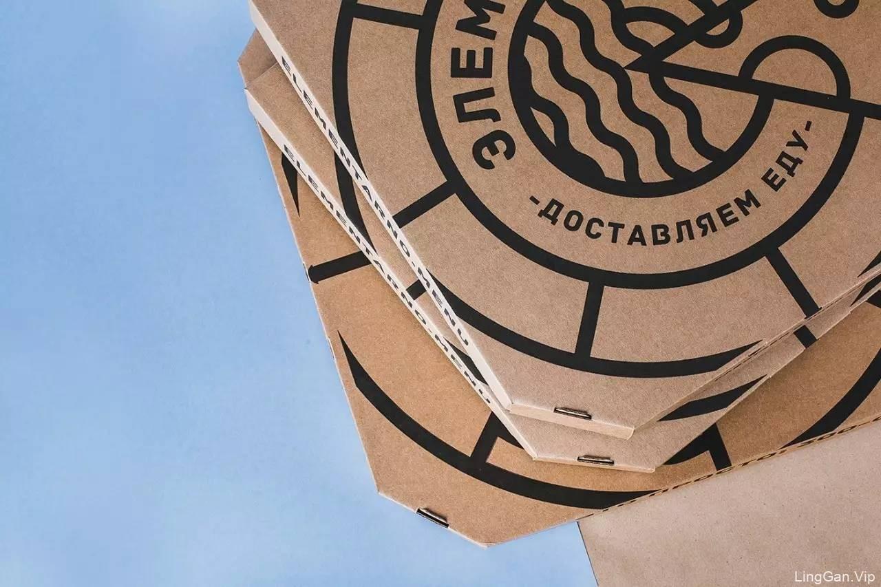 配色惊艳,包装精美的俄罗斯快餐品牌