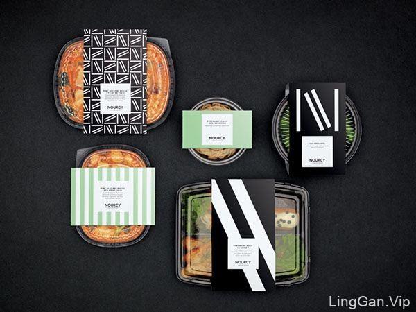 加拿大Nourcy面包店品牌形象设计
