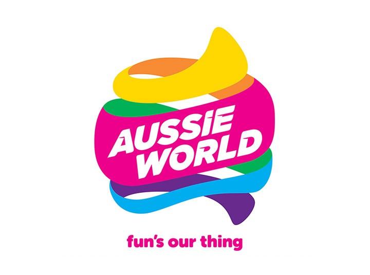澳洲世界主题公园(Aussie World)新LOGO绚丽登场