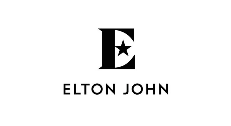英国著名摇滚歌手(Elton John)推出个人形象LOGO