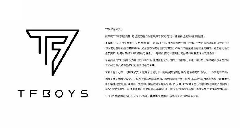 TFBOYS组合新LOGO获得国际设计大奖!