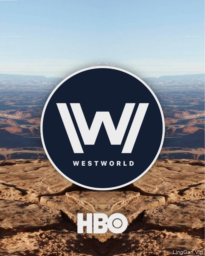 科幻神剧《西部世界》LOGO及海报