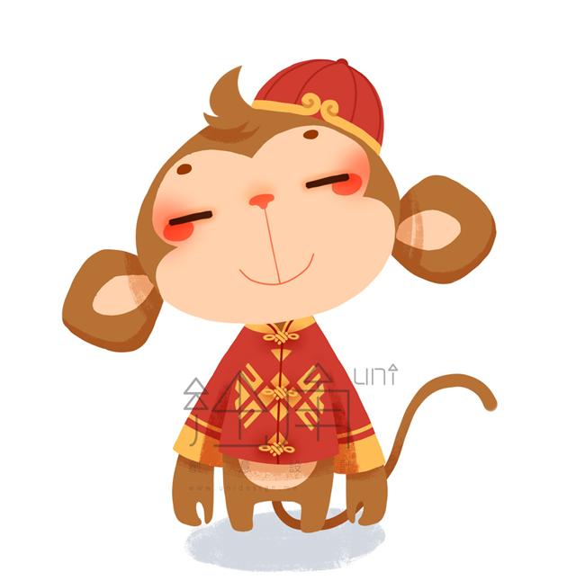 2016猴年央视春晚吉祥物,4个萌猴你会选哪个?