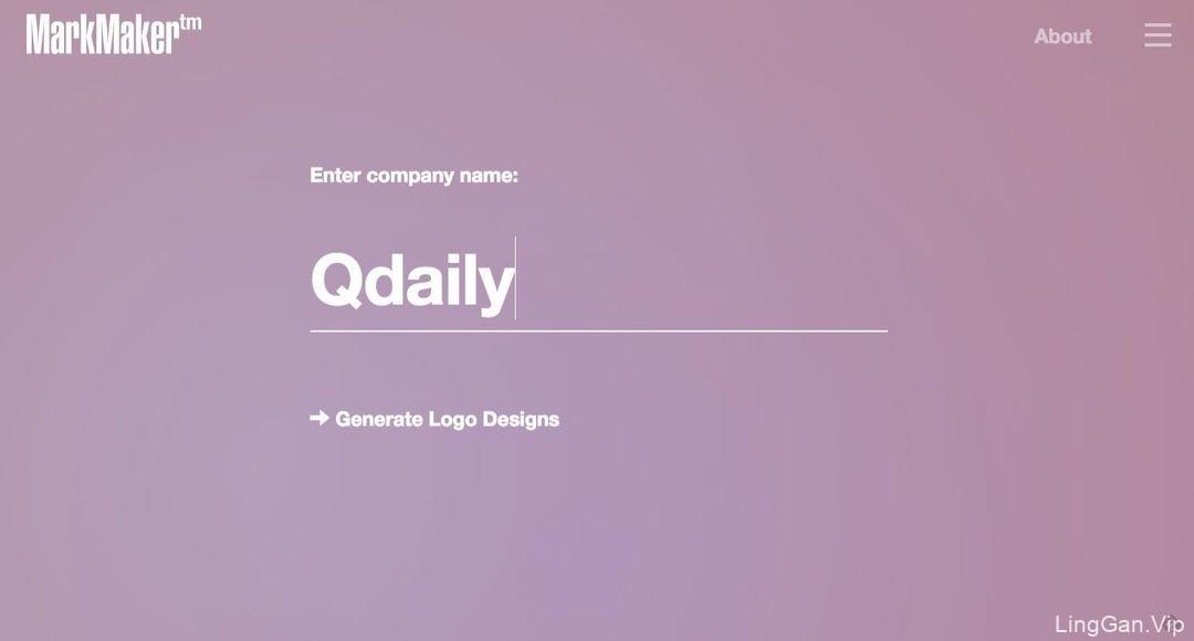 一个自动设计LOGO的网站:再也不用厚着脸皮找朋友免费设计了