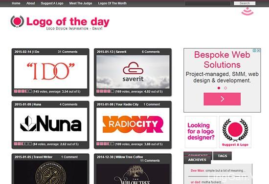 设计师必知的10个世界顶级Logo设计资源网站!