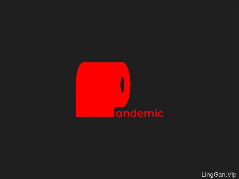 商品标志-11款卷纸元素Logo设计