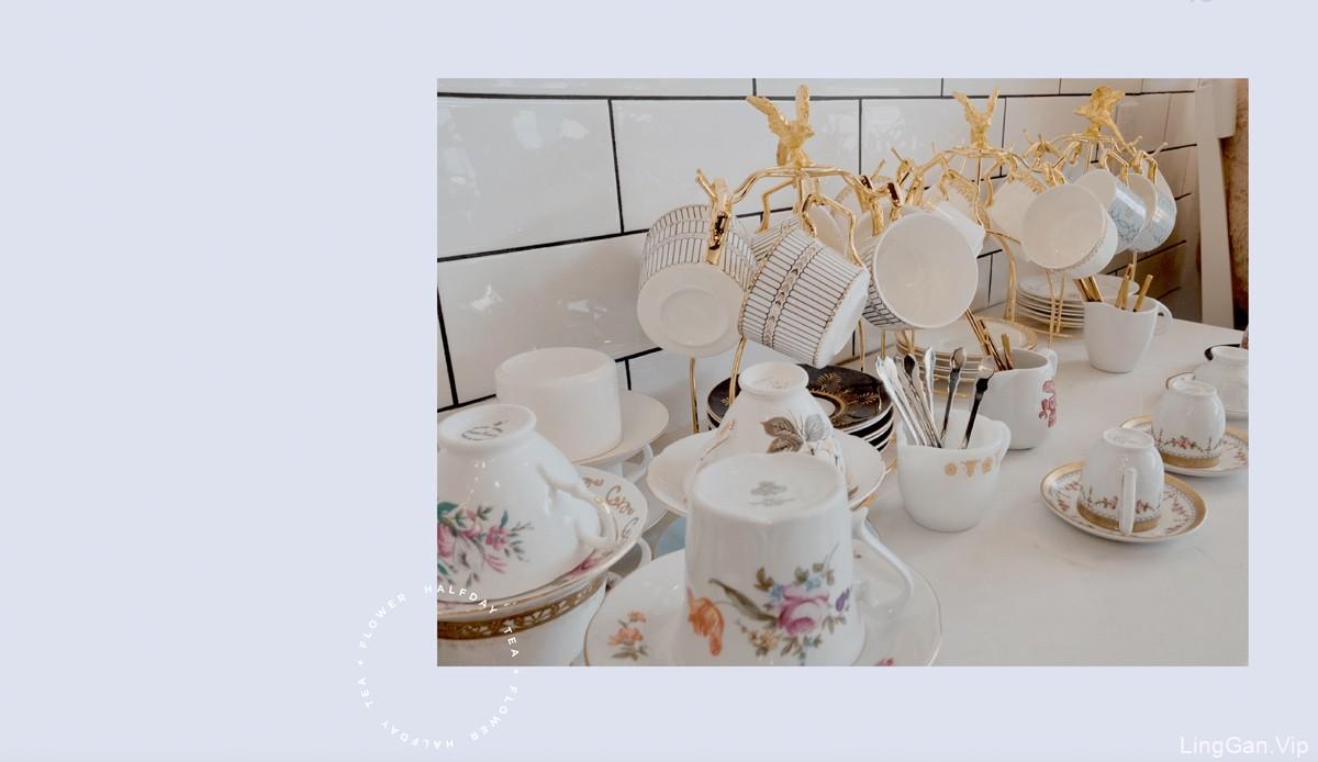 花茶店品牌VI设计作品