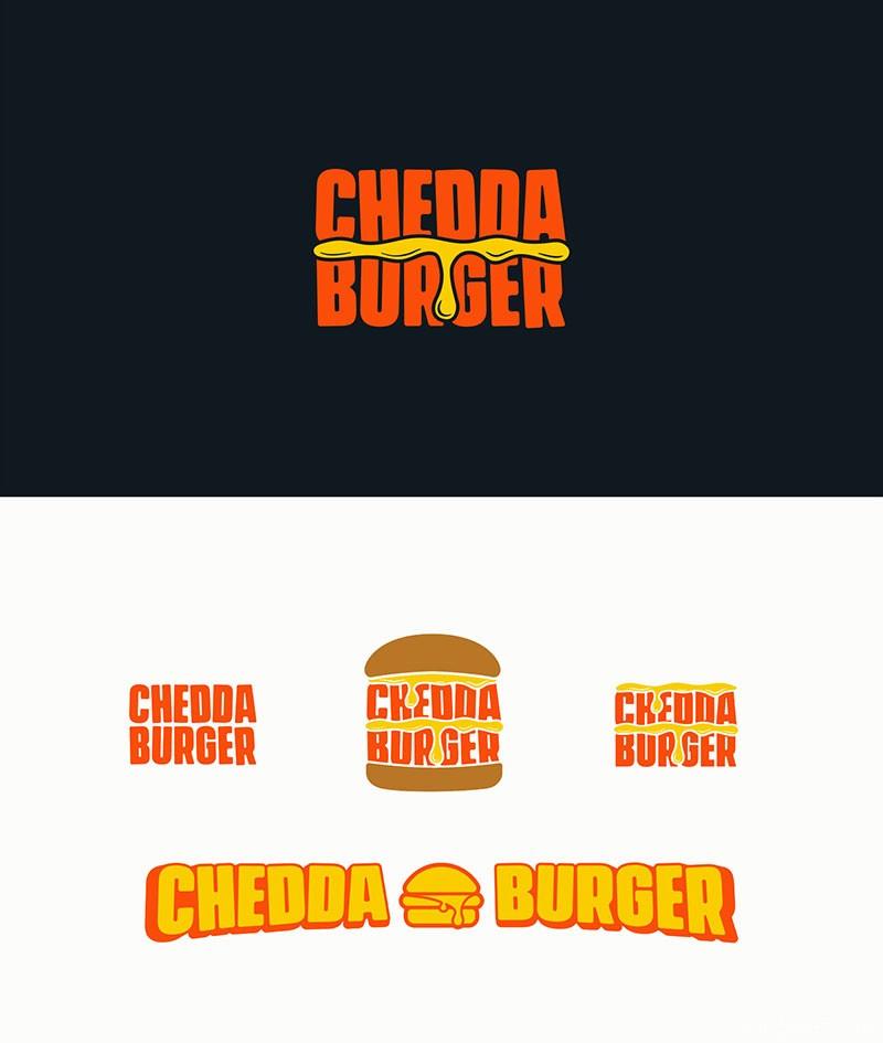 20款汉堡Logo标志设计作品