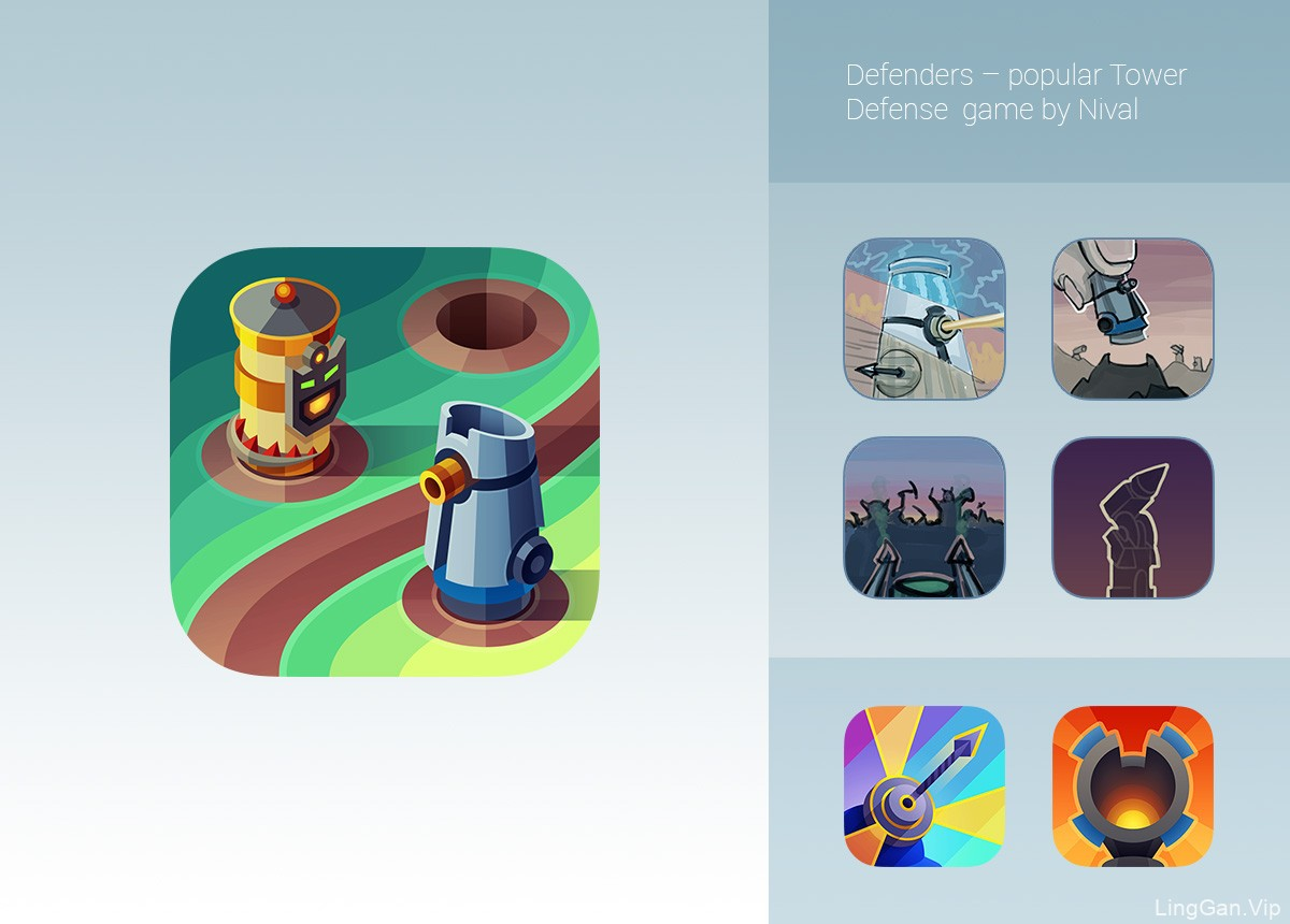 iOS手机APP Application icons图标设计