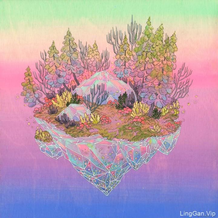 艺术家Nicole Gustafsson的美术插画18P上