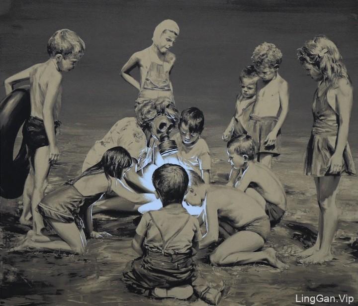 西班牙艺术家Paco Pomet的超现实油画作品分享