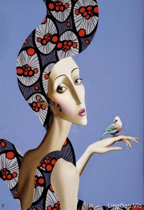 国外著名作家Slava Fokk的创意插画艺术作品分享13P