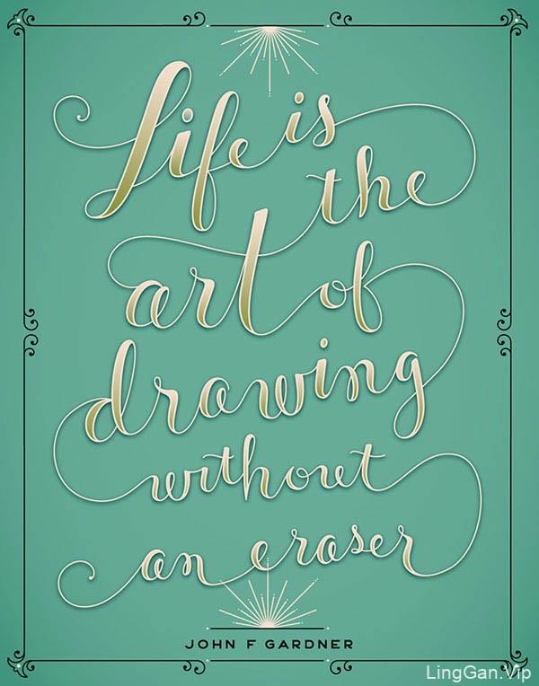国外设计师Jessica Hische创意字体设计(五)