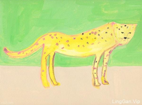 Mitiyo Taguti 笔下可爱清新的小动物手绘插画分享