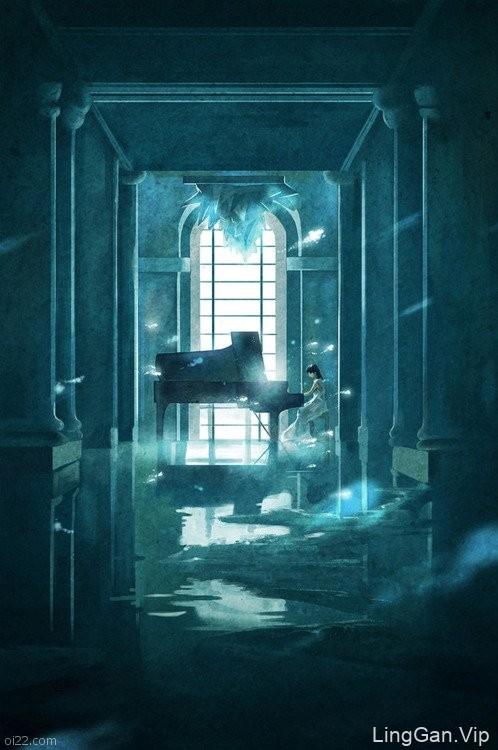 Shu Yong 小清新美术插画