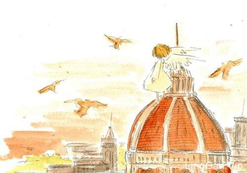 优秀设计师kotkotri的小清新卡通美术插画