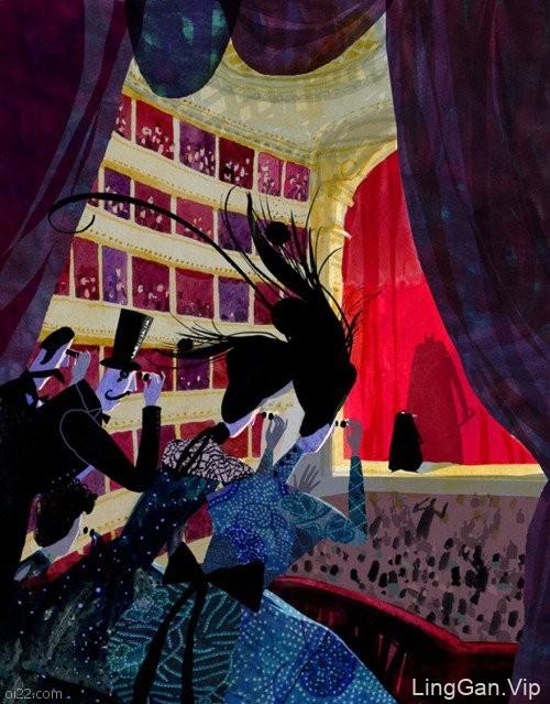 国外Victoria Semykina美术插画设计