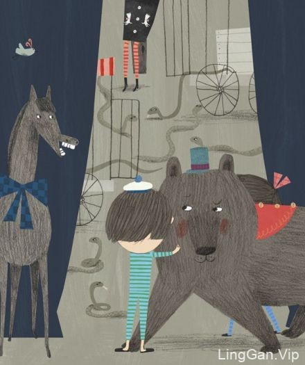 芬兰插画师Marika Maijala田园风插画设计