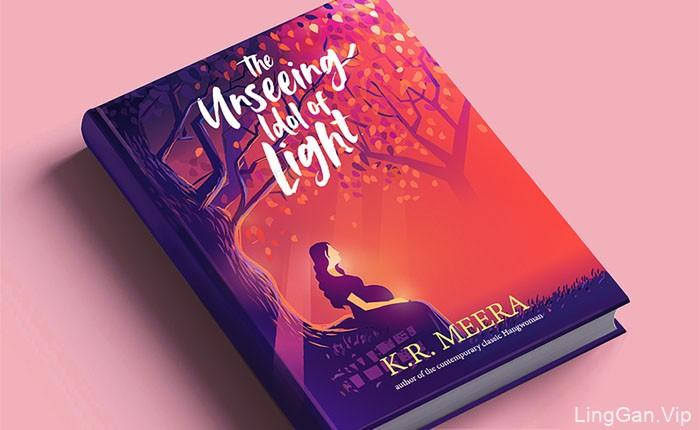 印度设计师ranganath书籍封面插画设计