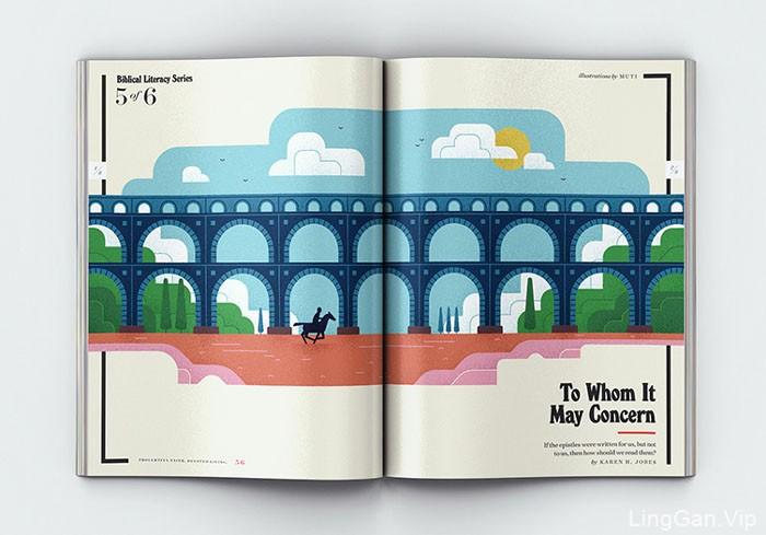 南非MUTI漂亮的书籍插图设计
