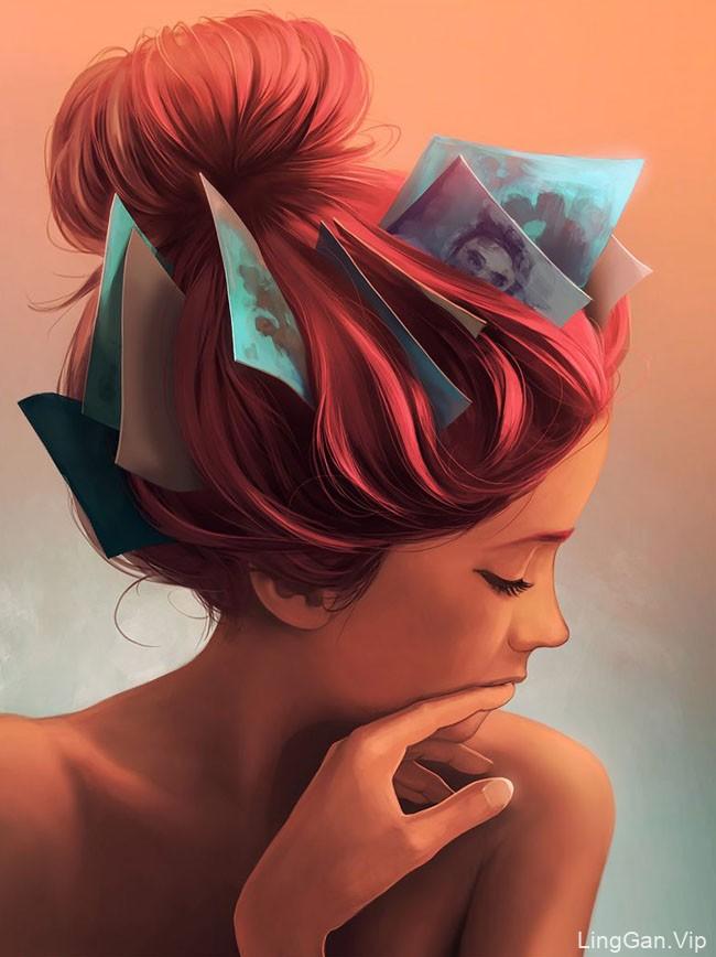 国外设计师Cyril Rolando超现实主义概念插画作品