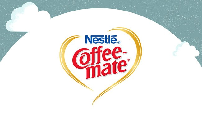 雀巢Coffee Mate脸书宣传活动插画设计