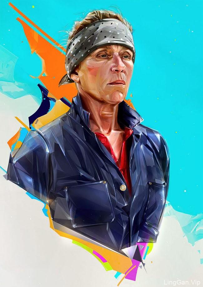 乌克兰Denis Gonchar人物插画设计作品