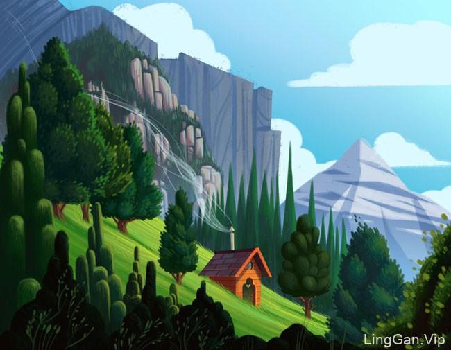 以色列lena场景儿童插画设计