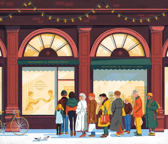 Kostar杂志冬季版插图设计作品