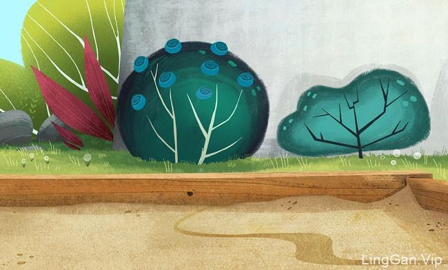 15款清新的儿童插画设计作品