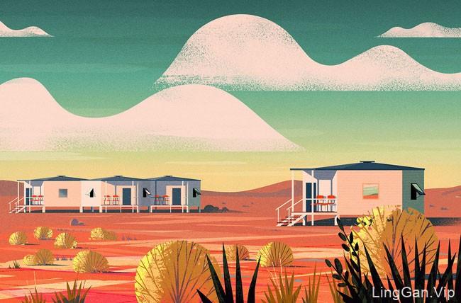 美国设计师Russ Gray书籍插图设计