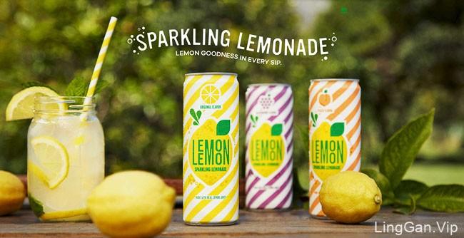 清新的七喜Lemon Lemon插图设计作品
