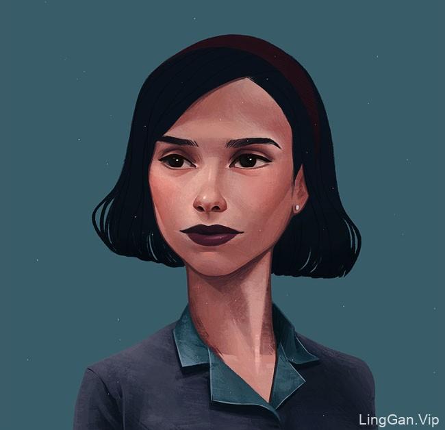 加拿大Janice Sung人物插画设计