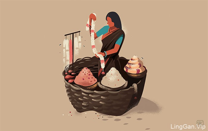 Identity系列传统文化插图设计作品