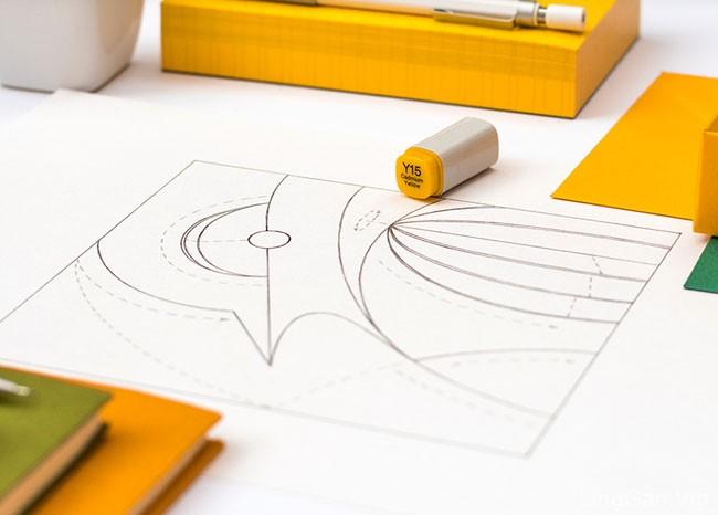 捷克Mike漂亮的鸟类邮票插图设计